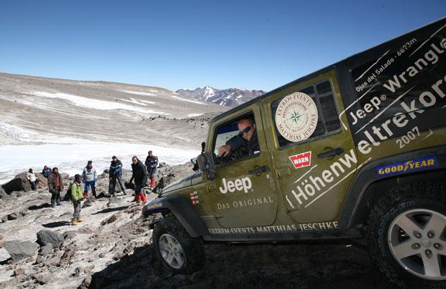 JEEP offroad Höhenweltrekord - Thomas Starck Autofotografie