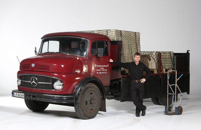Mercedes Lastwagen - Thomas Starck Autofotografie Studio
