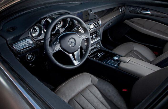 Mercedes Fahrerraum - Thomas Starck Autofotografie Studio