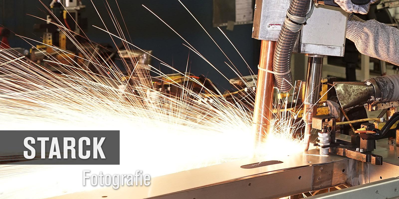 Schweissroboter - Thomas Starck Industriefotografie