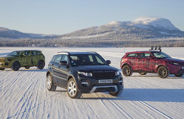 Thomas Starck Autofotografie - Range Rover Ensemble