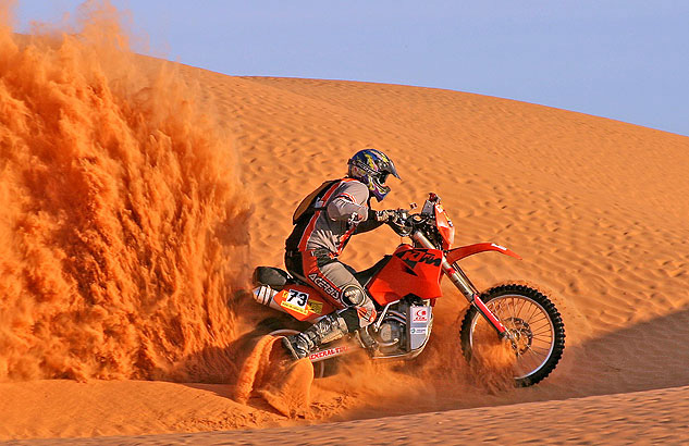 Thomas Starck - Autofotografie Sahara Rallye