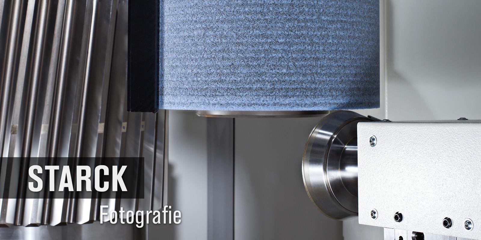Bearbeitungszentrum Zahnrad Detailaufnahme - Thomas Starck Industriefotografie