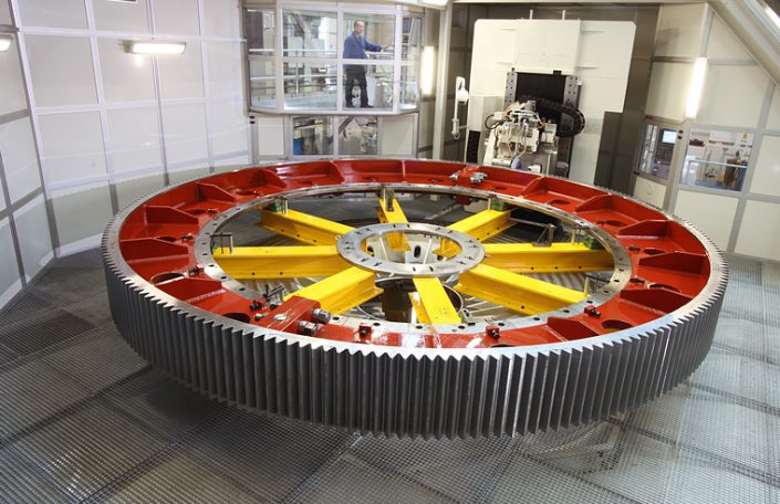 NILES Bearbeitungszentrum Gesamtansicht - Thomas Starck Industriefotografie