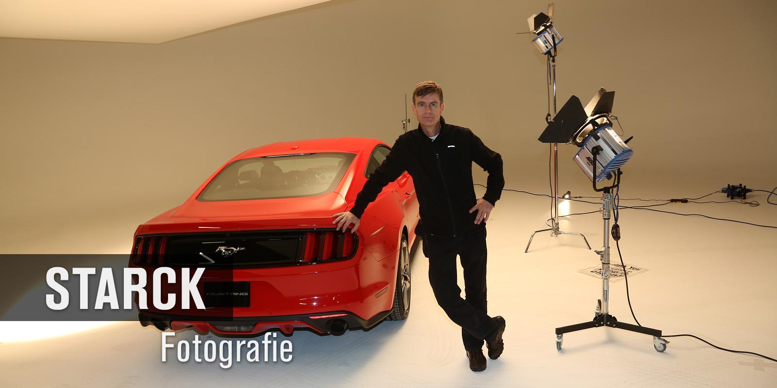 Ferrari Studioaufnahme - Thomas Starck Studiofotografie