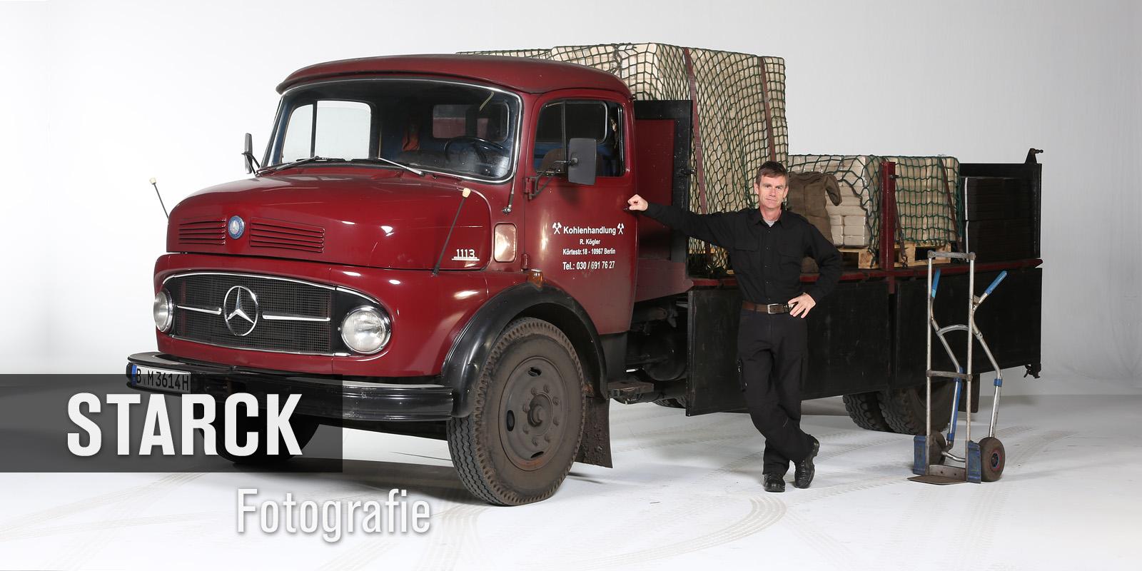 Mercedes Lastwagen Oldtimer- Thomas Starck Autofotografie Studio